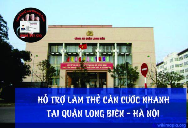Dịch vụ làm căn cước nhanh tại Quận Long Biên - 0984.397.510